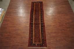 3X12 Antique Persian Karajeh Sarab Abrash Wool Runner