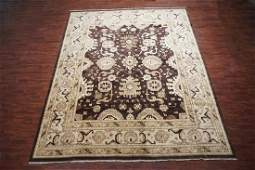 12X15 Vegetable Dyed Oushak Hand-Knotted Wool Rug