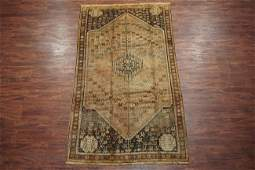 Antique 5X9 Persian Hand-Knotted Abrash Wool Rug