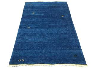 4X6 Fine Twisted Wool Gabbeh Rug HandKnotted Goat
