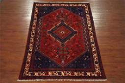Vintage 7X10 Tribal Persian Hand-Knotted Wool Rug