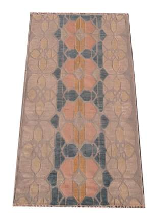 5X8 Modern Multicolored Rug HandKnotted Wool