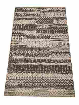 5X8 Modern Area Rug HandKnotted Wool Contemporary