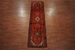 Antique 3X13 Persian Karajeh Sarab Hand-Knotted Wool