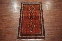 Antique 5X9 Persian Sarab Hand-Knotted Abrash Wool Rug