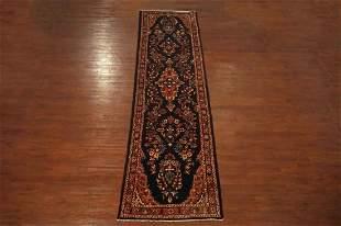 4X13 Antique Persian Lilihan Gallery Runner Area Rug