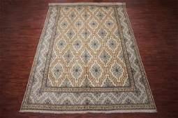 11X17 Antique Fine Persian Kashan Rug, circa 1940