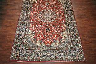 10X16 Antique Persian Isfahan Area Rug, circa 1940