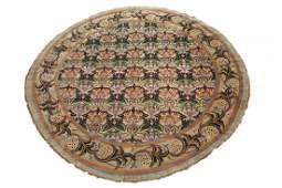14X14 Round Signed William Morris Art & Craft Rug