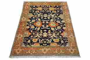 Antique 10X12 Persian Mahal Sultanaban Signed Rug