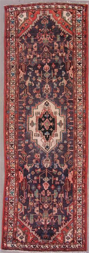 10' ANTIQUE PERSIAN MALAYER RUNNER AREA RUG