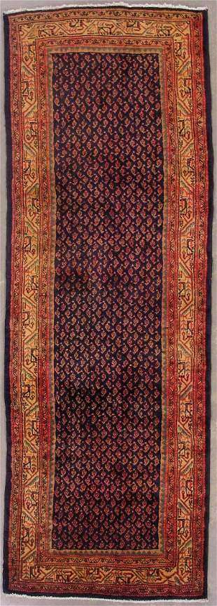 10' PERSIAN PAISLY RUNNER AREA RUG