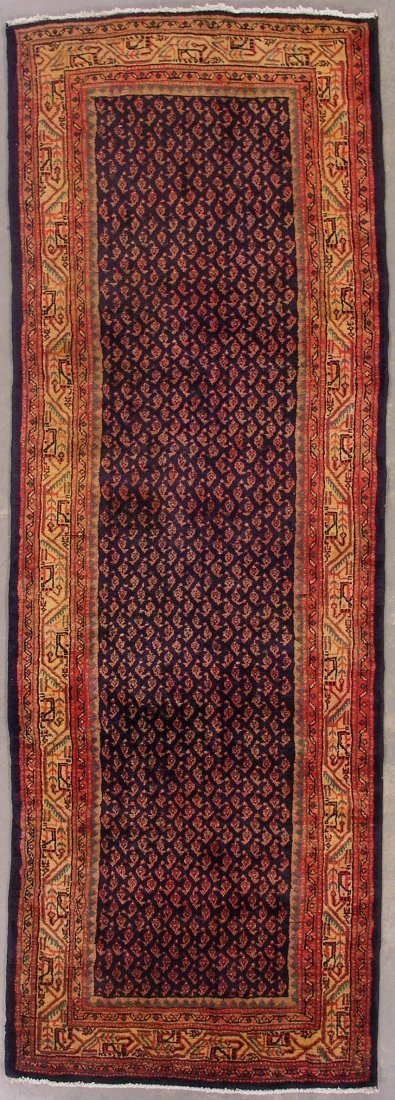 121: 10' PERSIAN PAISLY RUNNER AREA RUG