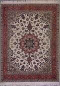 221: 4x7 FINE PERSIAN TABRIZ AREA RUG