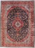 512: 10x13 PERSIAN KASHAN AREA RUG