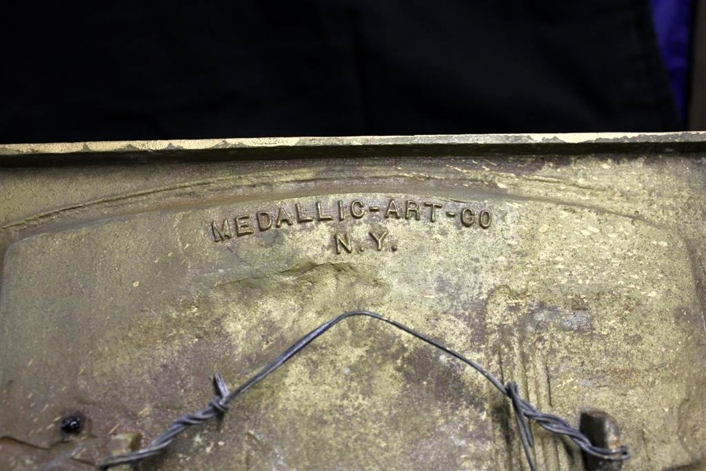 74: RARE Goodyear Iron 20 Years Dealers Plaque Award - 2