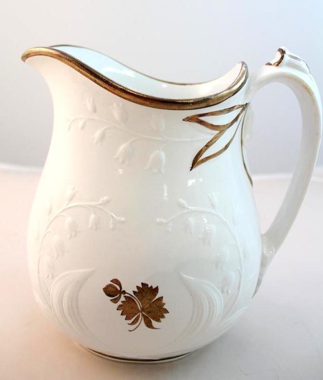 15: Anthony Shaw Staffordshire Tea Leaf Pitcher