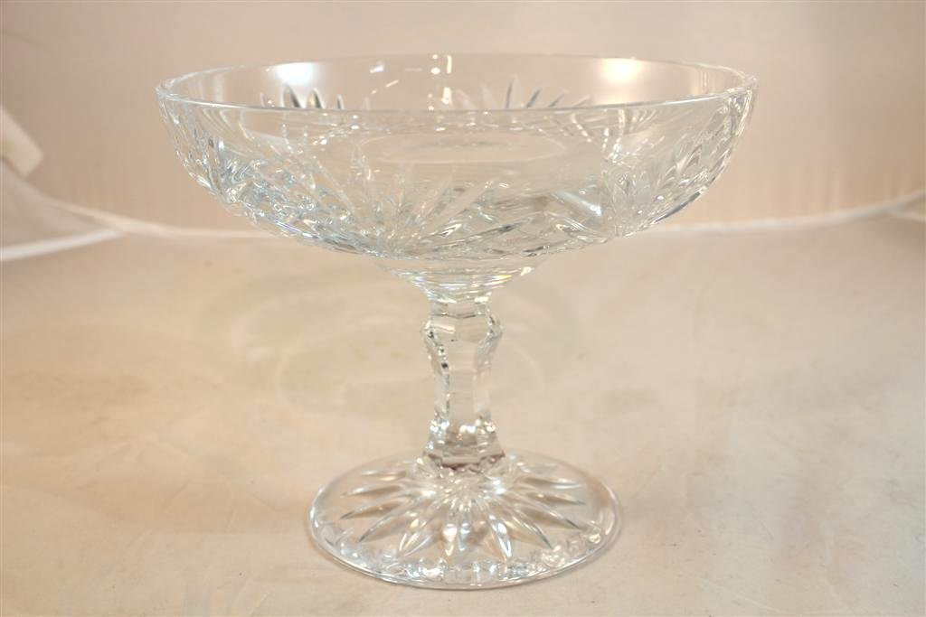 12: Large Waterford Irish Crystal Innifree Compote