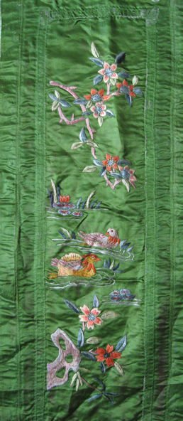 20: An Old Silk Embroidery