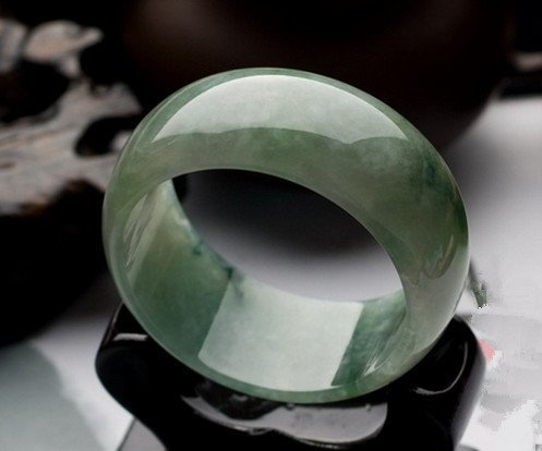 6: Chinese A Grade Icy Jadeite Bangle
