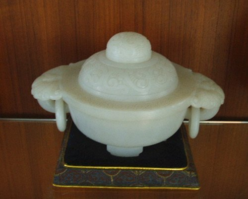 258: An Antique Chinese White Jade Censer