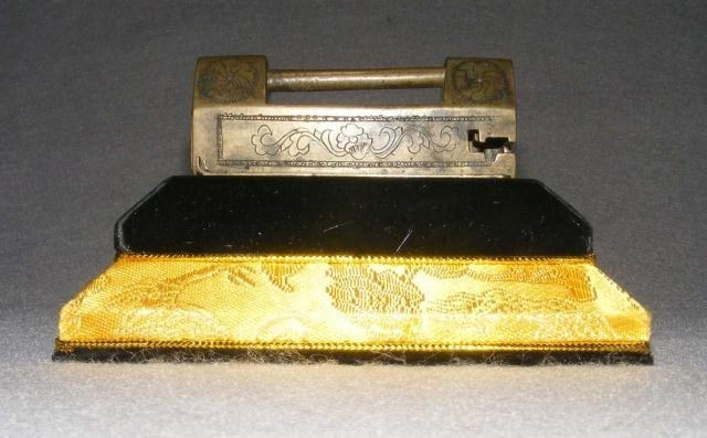 4: An Antique Chinese Bronze Lock