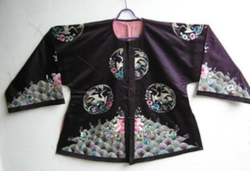 18: An Antique Chinese Official Silk Jacket