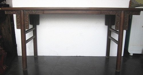 109: An Old Chinese Huanghuali Drawing Table