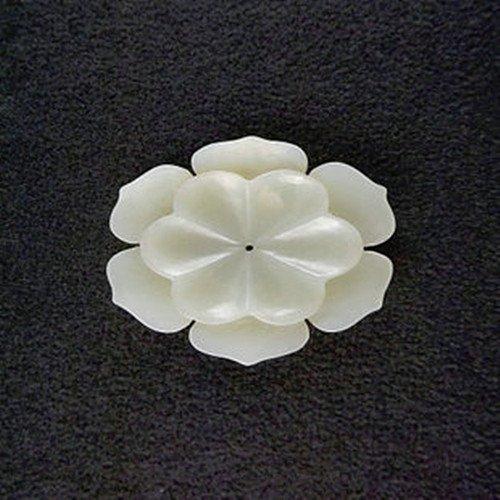 22: An Antique White Jade Pendant