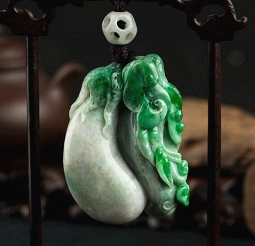 A Certified Jadeite Carving