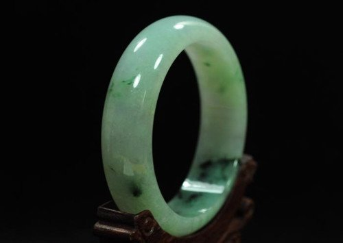 A Certified Jadeite Bangle