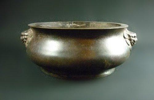 Chinese Old Large Broze Censer