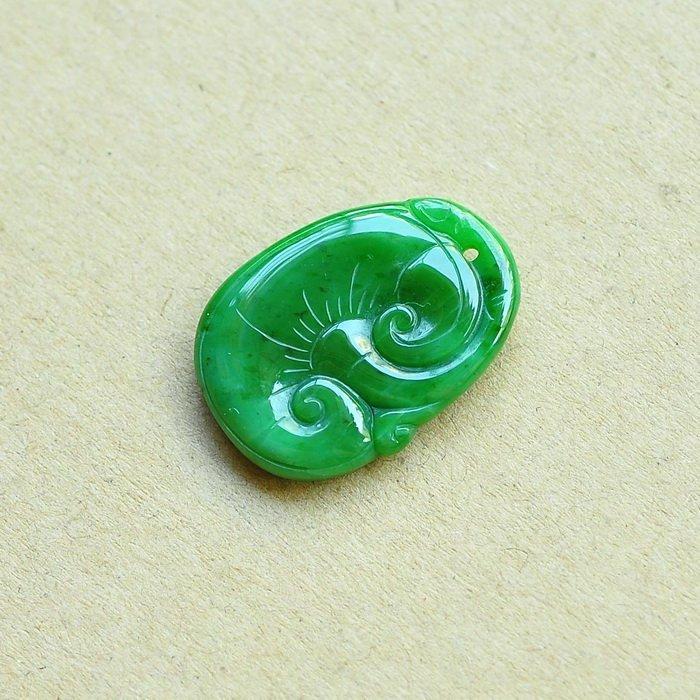 A Natural Jadeite Pendant
