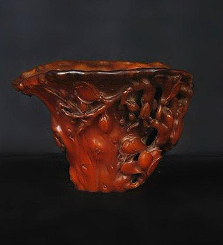 An Old Rhino Cup