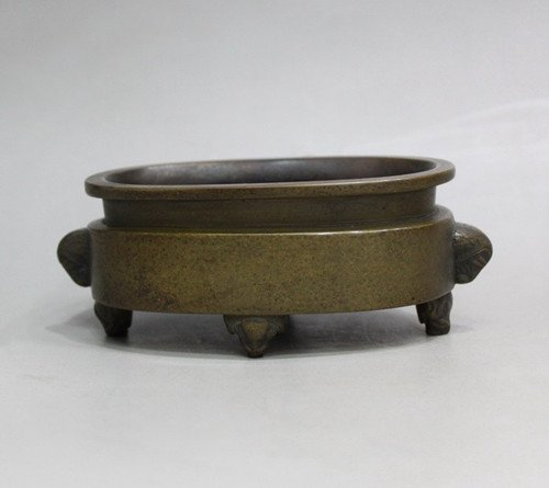 An Old Bronze Censer