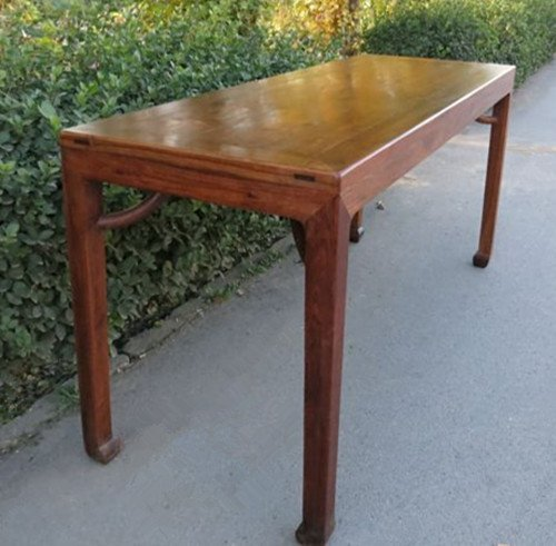 Rare Old Chinese Huanghuali Wood Drawing Table