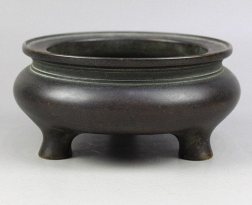 Old Chinese Bronze Censer