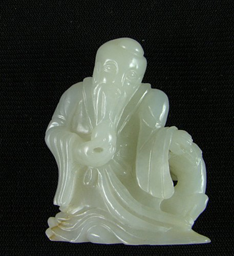 Old White Jade Carving