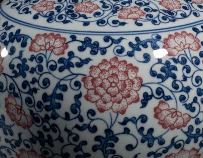 Fine Large Chinese Tianqiuping Vase - 7