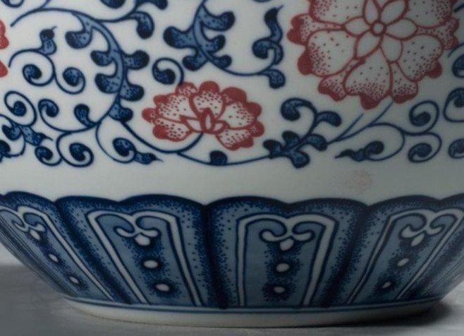 Fine Large Chinese Tianqiuping Vase - 8