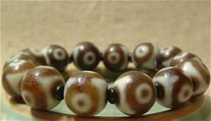 Fine Antique Tibetan Celestial Tianzhu Bead Bracelet