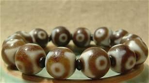 Fine Old Tibetan Celestial Bead Tianzhu Bracelet