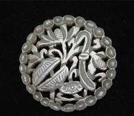 Fine Old Chinese Nephrite Jade Carved Plaque