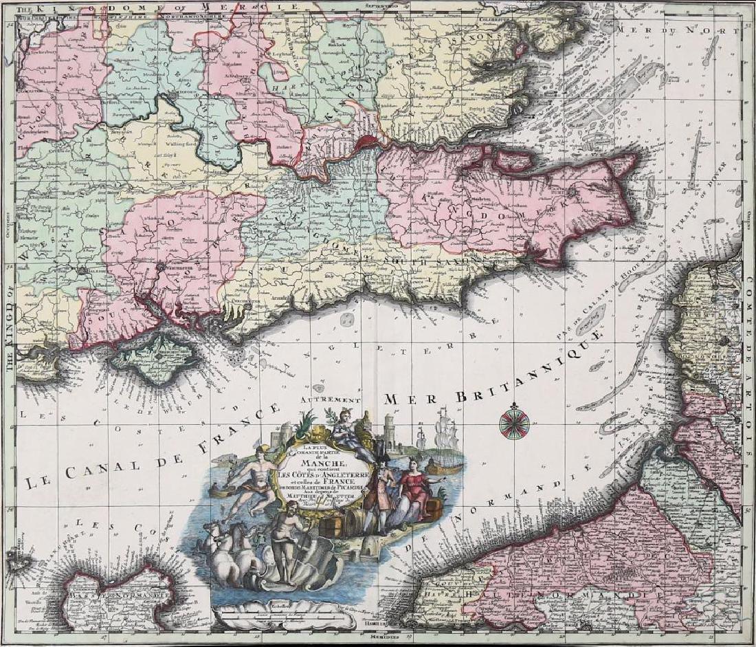 Drayton (Michael) Hartfordshyre, engraved map, to - 2