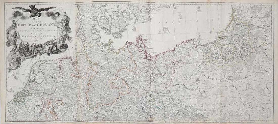 Europe.- Delarochette (Louis) Map of the Empire of