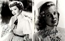 Signed Photographs.- Actors and Entertainers A