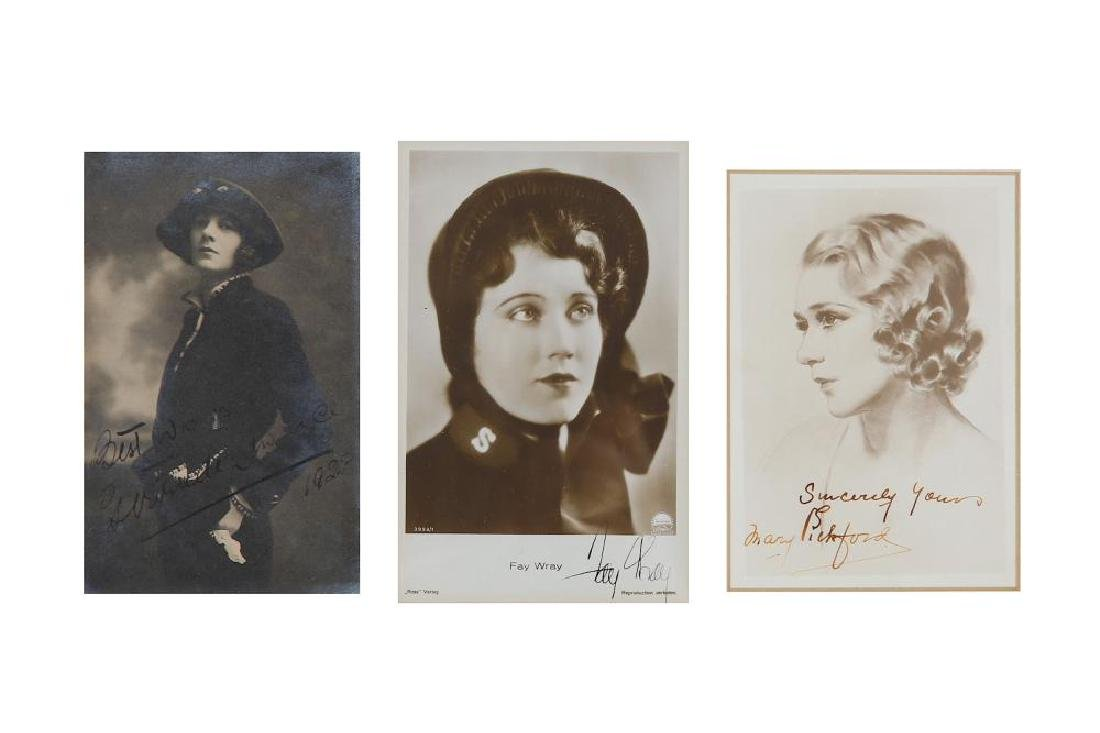 Signed Photographs.- Actors Collection of photographs - 5