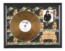 Jackson Michael Bad 24KT Gold Disc Limited