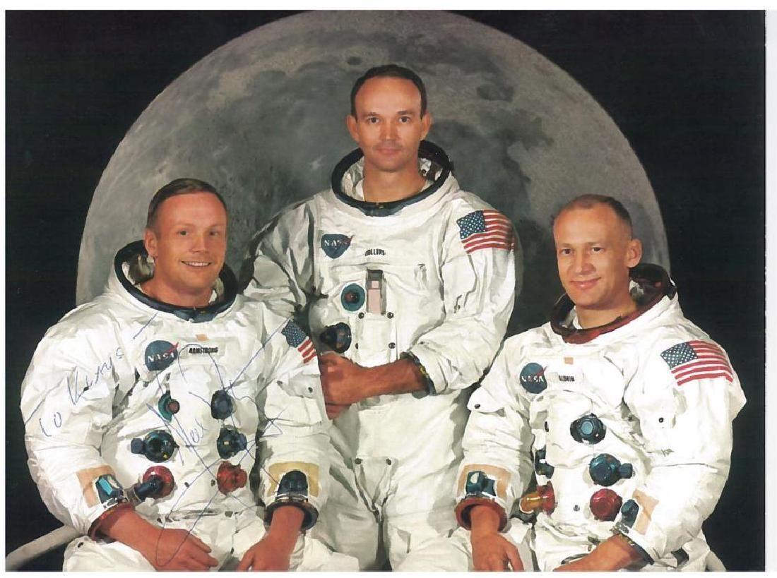 Armstrong (Neil) Colour Nasa photograph of Neil