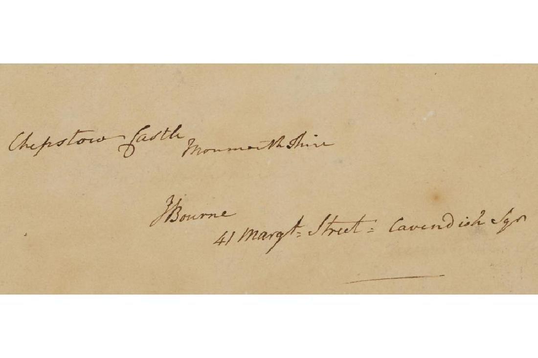 REV. JAMES BOURNE (BRITISH 1773-1854) - 2